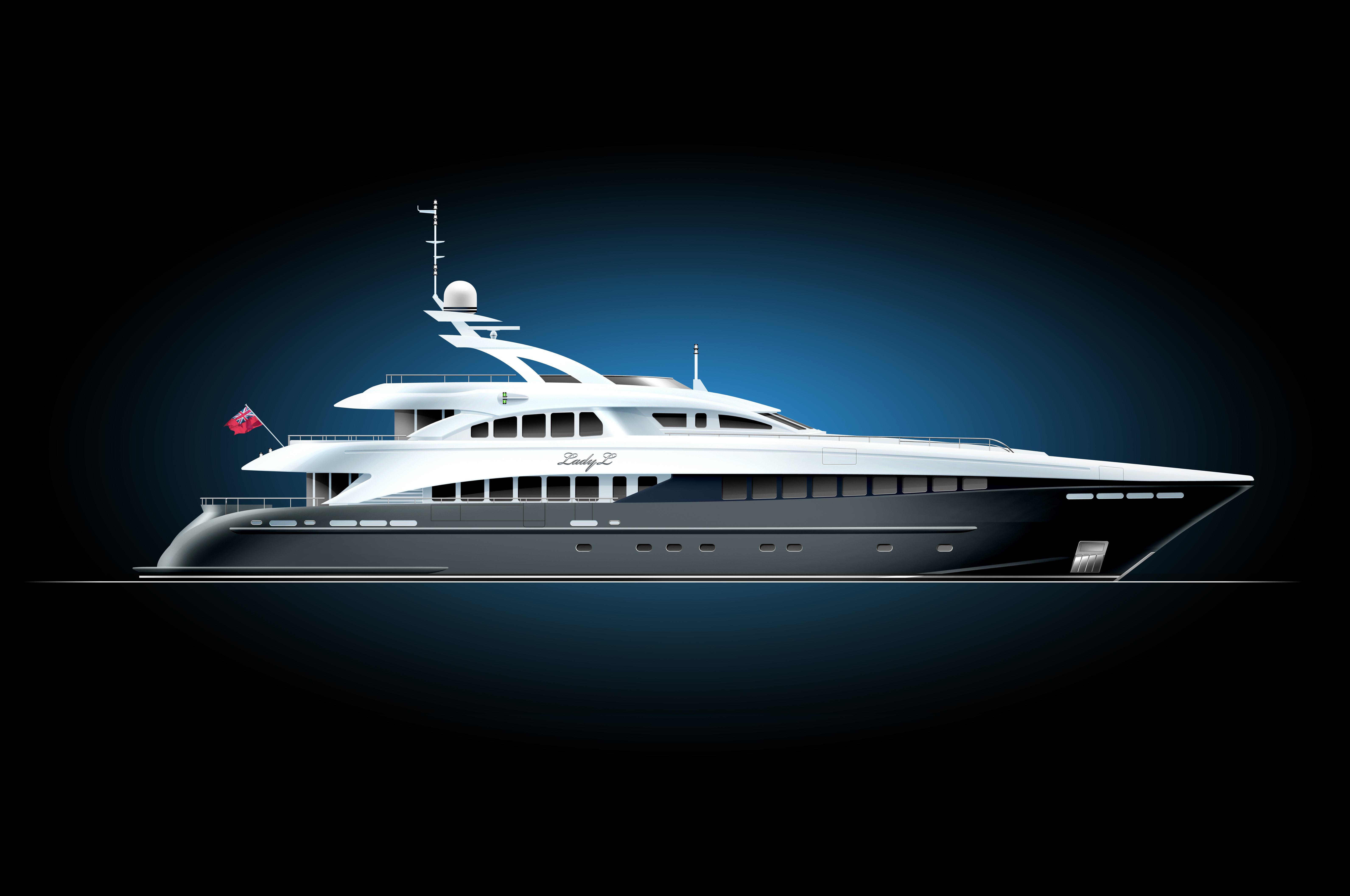 Heesen Yachts Luxury 144ft Superyacht LADY L Launched From