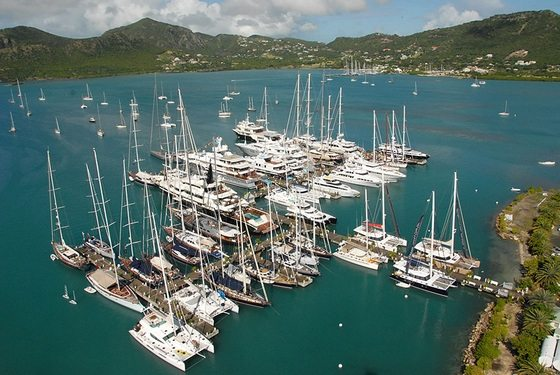IPHARRA luxury Sunreef 102 Double Deck, will be docked in Antigua Yacht Club ...