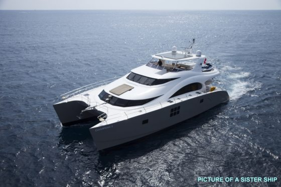 SKYLARK, a New Luxury Charter Catamaran in the Fleet
