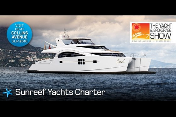US Premiere of CLOUDS at Miami Yacht and Brokerage Show