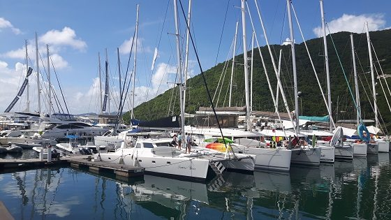 Sunreef Yachts Charter at the 35th BVI Charter Yacht Society Boat Show