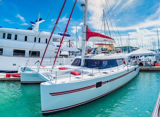 BLAZE II showcased at prestigious yacht shows  in Thailand