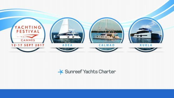 Sunreef Yachts Charter at the 2017 Cannes Yachting Festival