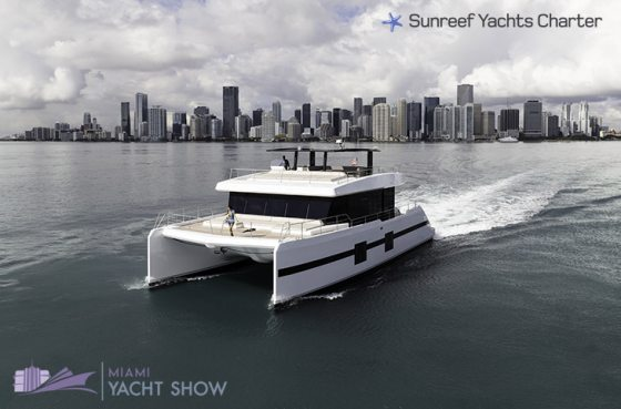 Sunreef Yachts Charter at the Miami Yacht Show 2018