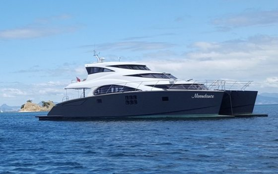 Introducing MOONDANCE to Sunreef Yachts Charter Fleet