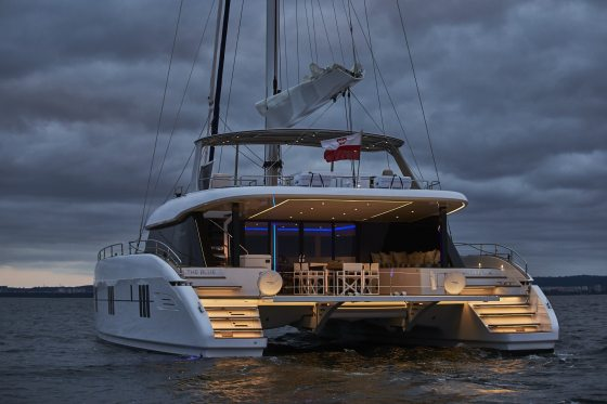 Introducing FEEL THE BLUE to Sunreef Yachts Charter Fleet