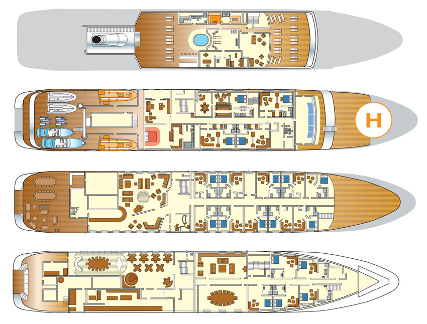Charter Mega Yacht Lauren L Layouts Sunreef Charter